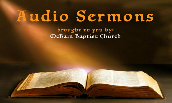McBain Baptist Church Audio sermon series