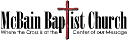 McBain Baptist Church Logo