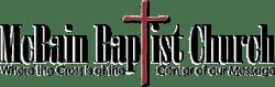McBain Baptist Church Logo